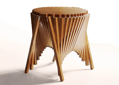 Rising Side Table   Robert van Embricqs