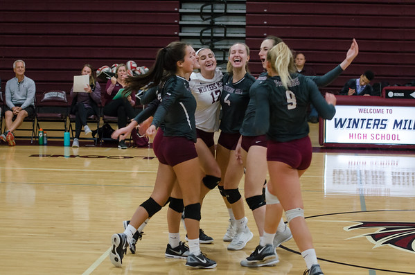 WM Volleyball vs WHS 9_24_18