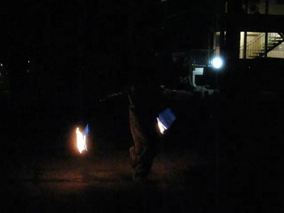 March 08: Fire Dancers at Lake Tahoe