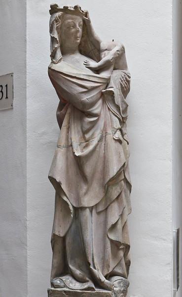 Muttergottes (Nürnberg, um 1315, GNM)