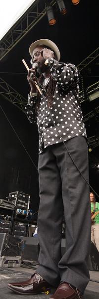 Troy Ellis and his Hail Jamaica Reggae Band
