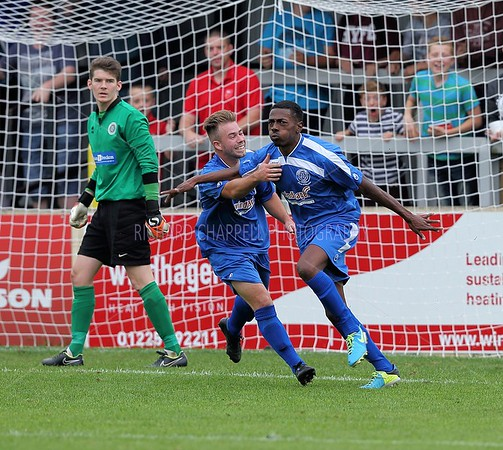CHIPPENHAM TOWN V ARDLEY UNITED MATCH PICTURES (F.A. CUP 2nd R. Q.) 27th SEPTEMBER 2014