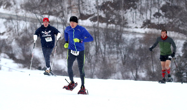 Tubbs Snowshoe Race The Face Event