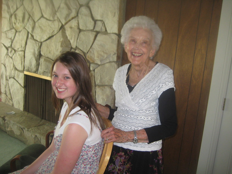 Meagan and Grandmother Criddle 2011.JPG