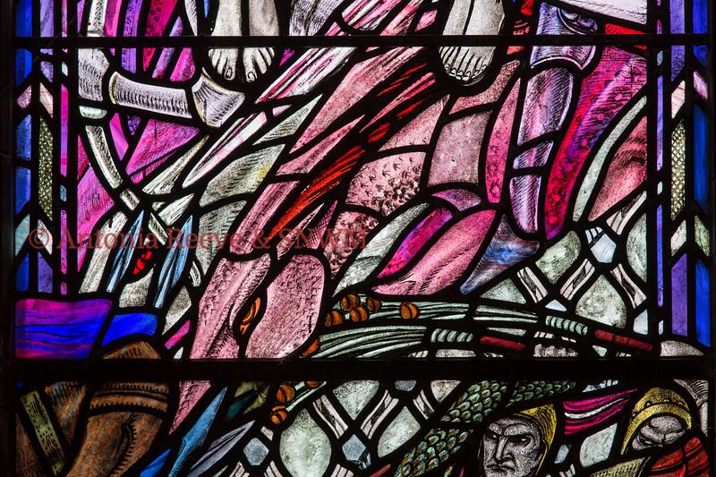 Shrine Window 6, detail Horsemen of the Apocalypse