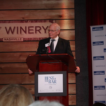 "06-27-17 | Nashville Business Journal ""Best of the Bar"" Reception @ City Winery"