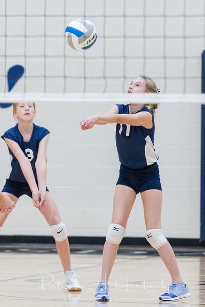 2018-10-11 Hillsdale Academy Junior High Volleyball vs. Jackson Christian