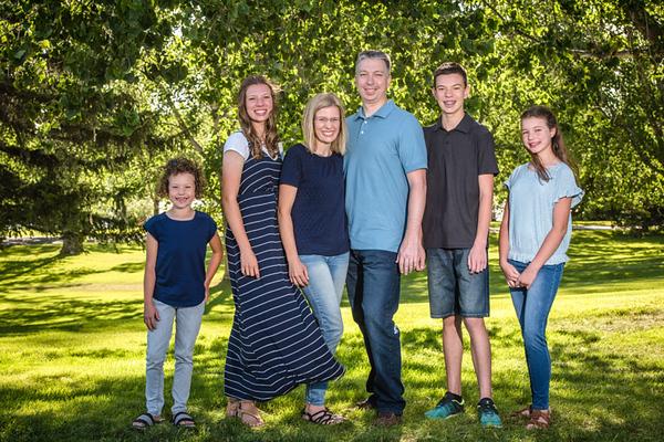 Shannon Andersen family 2020