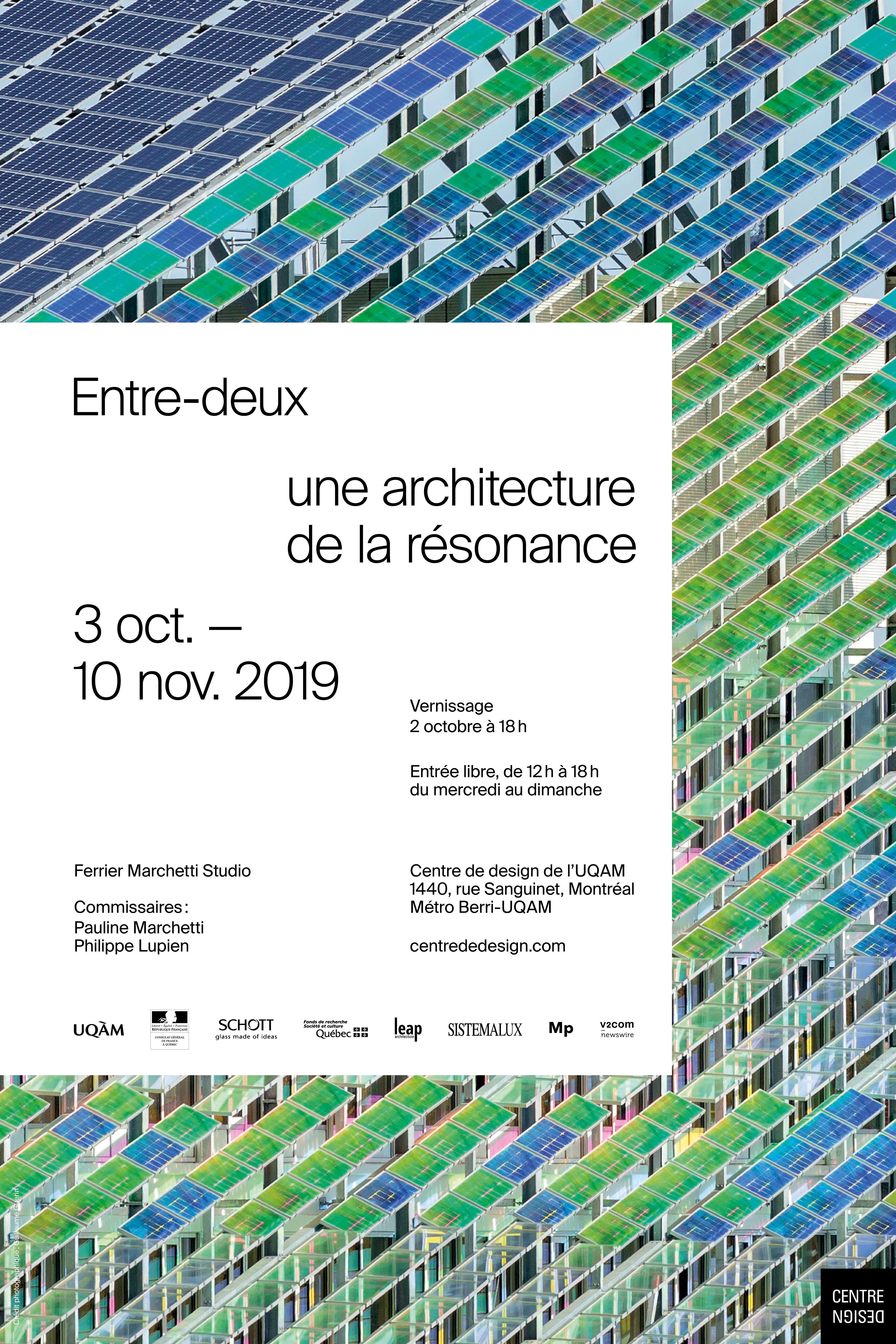 2019 - Exposition - Entre-deux ©Victor Bernaudon Cointe et Wendy Moran