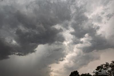 20190911 - Summer Thunderstorm Sunset
