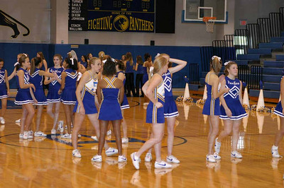 Panther Cheerleaders, 2003 - 2004