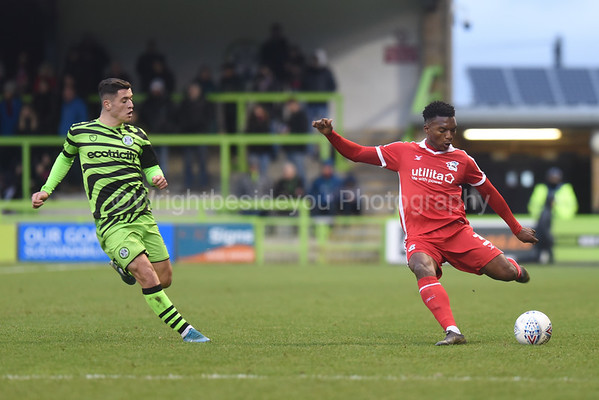 Forest Green Rovers v Scunthorpe United ~ 0v2 ~ 07.12.2019