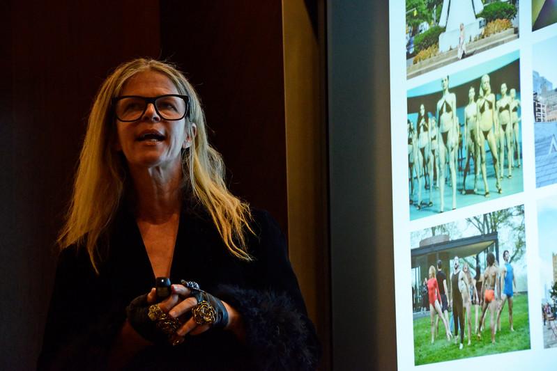 Yvonne Force Villareal AVENUE MAGAZINE Presents the SALON DINNER & CONVERSATION about PUBLIC ART Featuring YVONNE FORCE VILLAREAL 10 Hudson Yards NYC, USA - 2017.04.06 Credit: Lukas Greyson