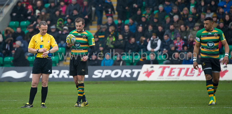 Northampton Saints vs London Irish, Aviva Premiership, Franklin's Gardens, 13 February 2016