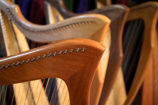 West Stockbridge harp maker Michael Costerisan - 071519