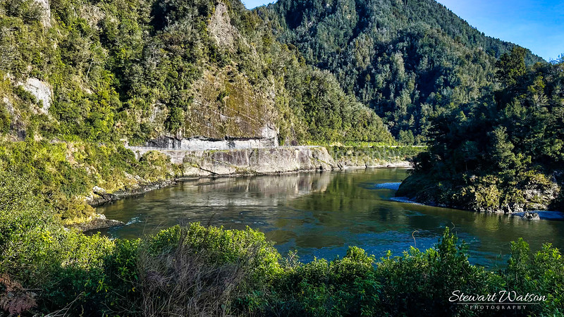 Lower Buller gorge