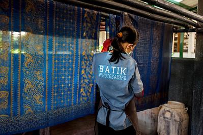 Batik Winotosastro, Indonesia