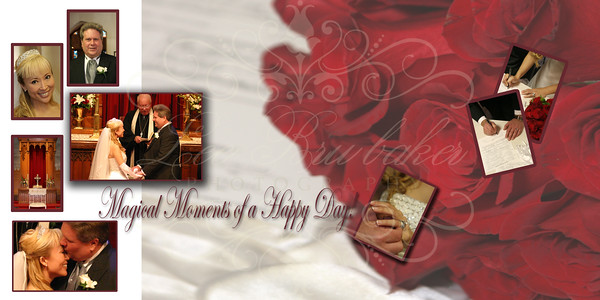 Justine & Greg's Wedding Album