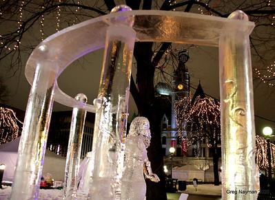 Ice Sculptures Rice Park 2020 GMN