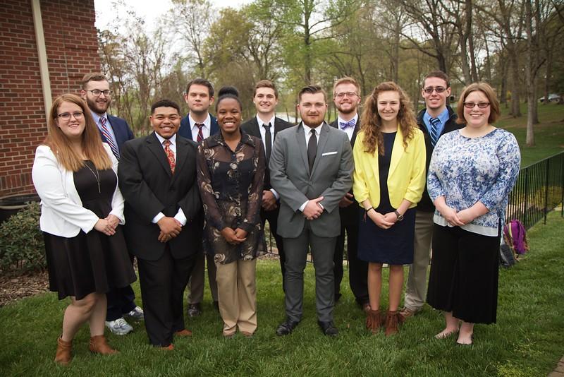 Gardner-Webb Students participate in the model UN.