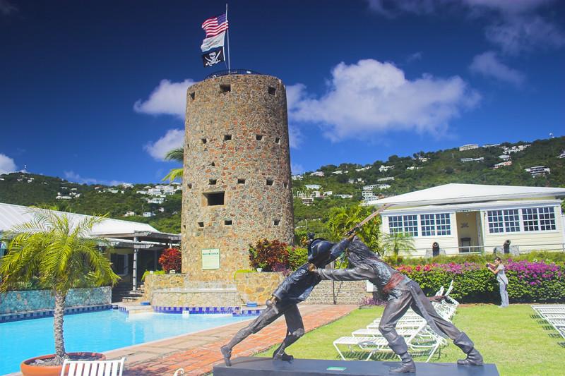 Blackbeard's Tower St. Thomas