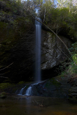 Green Party Falls and Devils Courthouse Falls