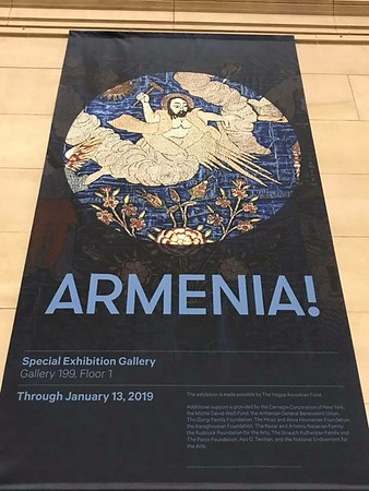 "Parish Pilgrimage to ""Armenia"" Exhibit at the Metropolitan Museum of Art, NYC, Dec 8, 2018"