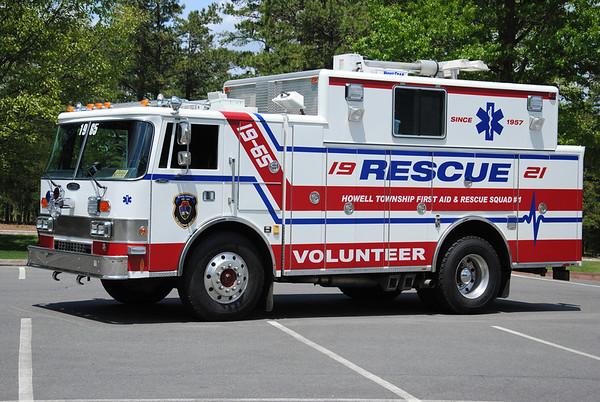 First Aid & Rescue Squad Apparatus