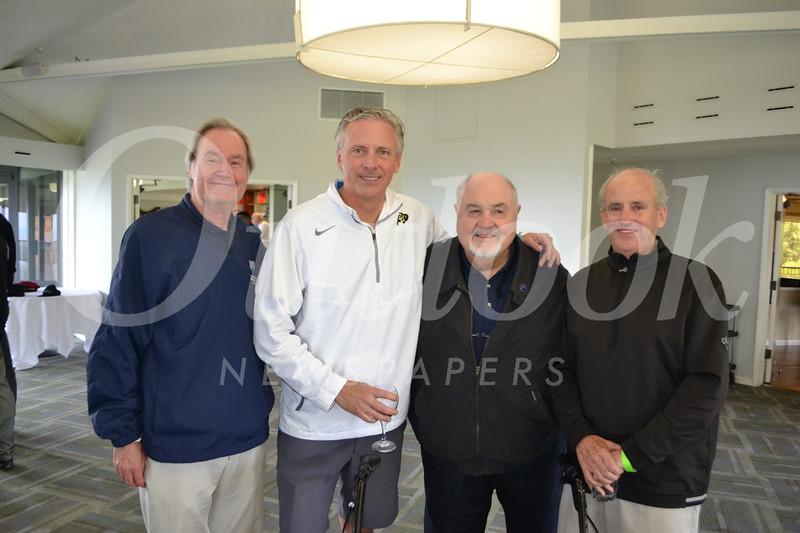 Head of School Peter Bachmann, Jeff Crawford, John Plumb and Jim DiMartini