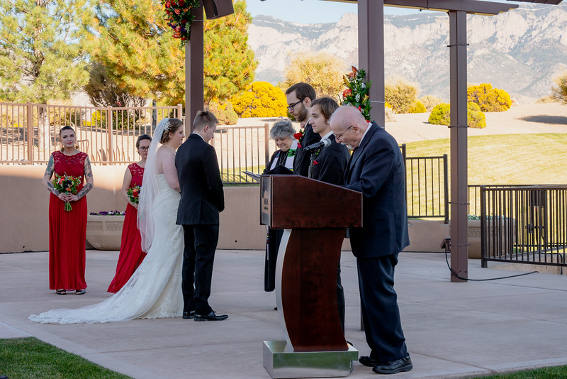 Sandia Hotel Casino New Mexico October Wedding Ceremony C&C-79.jpg