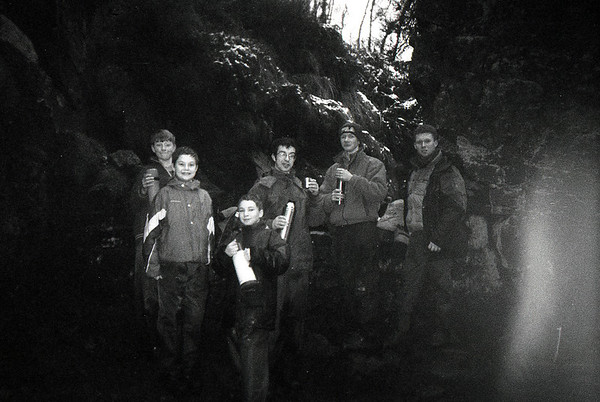 1999-01-03 Scouts Hike on the Roaches