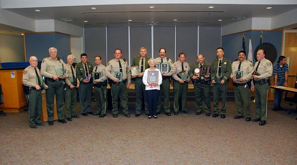 Santa Clara County Sheriff Reserve Awards 10 21 2008
