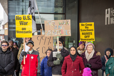 Hands Off Venezuela - Minneapolis - Feb 23