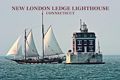 New London Ledge Lighthouse, Connecticut
