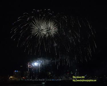2016 Philadelphia New Year's Eve Fireworks
