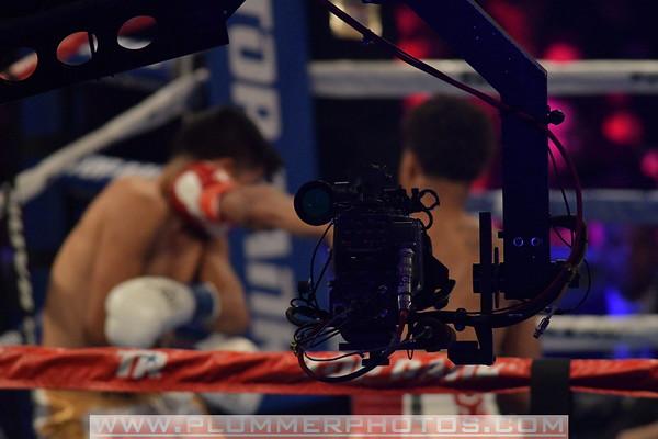 Shakur Stevenson Defeats Oscar Mendoza by 2nd Round TKO