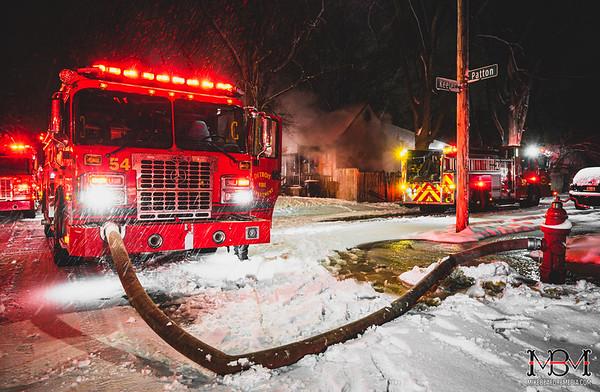 Detroit MI, House Fire 2-4-2021