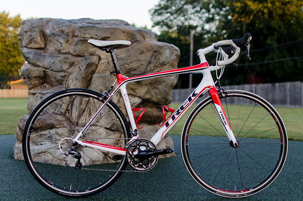 2013 Trek Madone 4.5 at the Park
