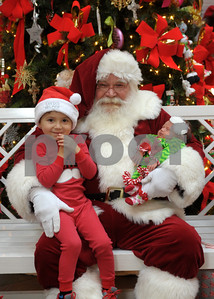2014 - Santa at First Methodist