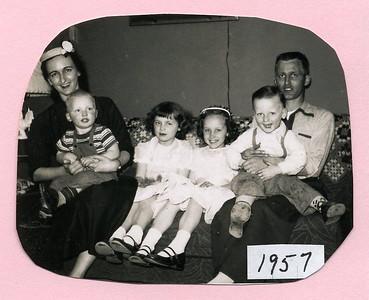 1950's Ewing Family Photos