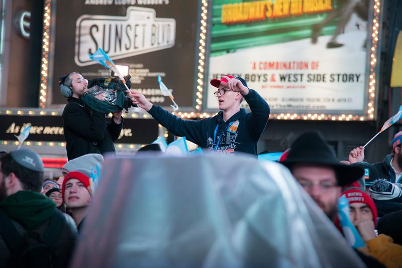 C-Teen Shabbaton Times Square kids from around the world0005.JPG