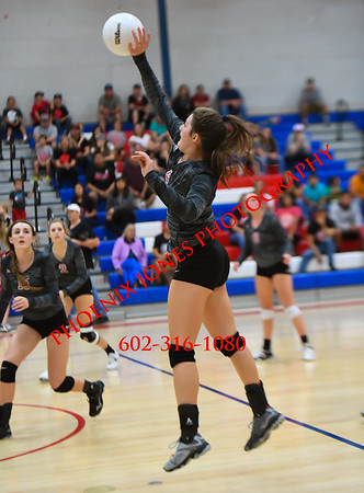 11-4-17 - Mogollon vs St Michael - AIA 1A Volleyball Final - Championship