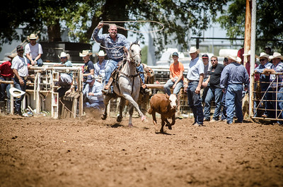 Old Settlers 123rd Calf Roping