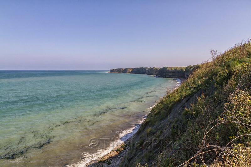 View East towards Omaha Beach