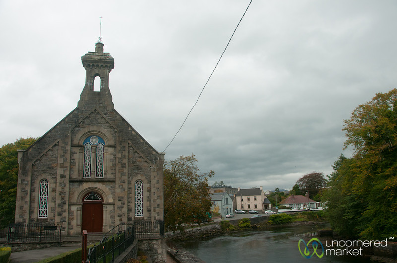 Donegal Town, Church and Water - Donegal, Ireland