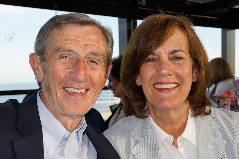 Bob Mitchell and Jill Valentine