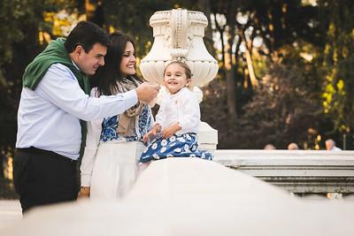Lorena y familia