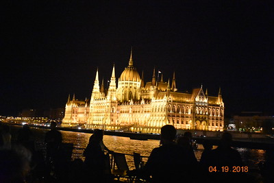 Day6 (10pm): Entering Budapest Hungary