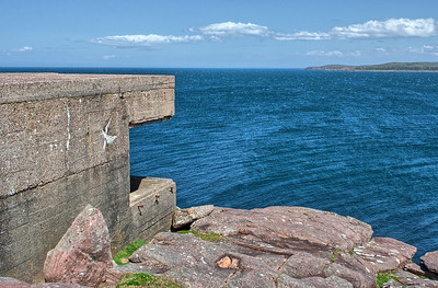Cove Gun Emplacements, Loch Ewe
