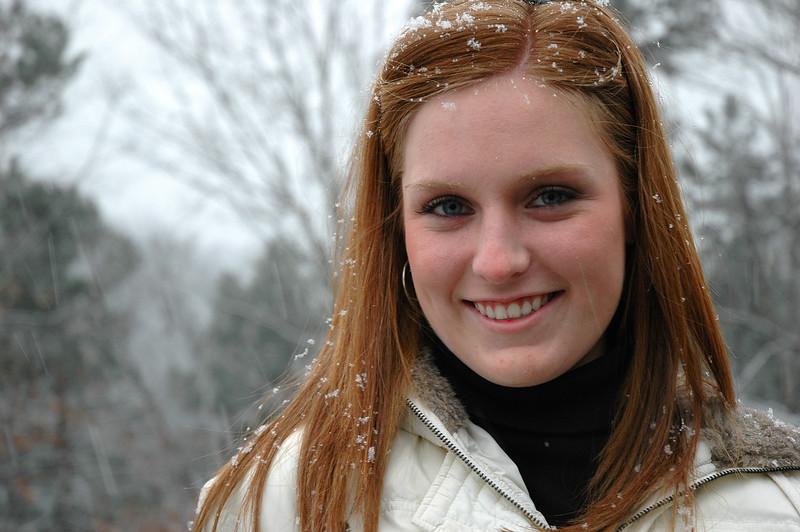 Enjoying The Snow Flurries - Gatlinburg TN